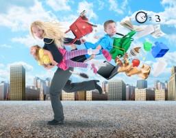 Stress og familieliv - ER det virkelig nødvendigt at løbe så stærkt?